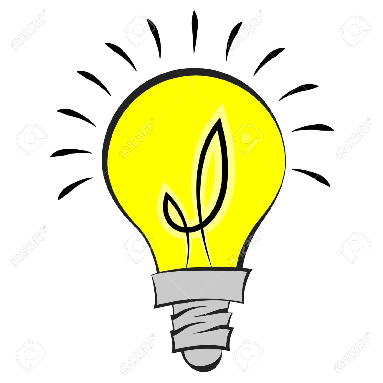 Idea clipart lamp Clip Clipartner Bulb Thinking art