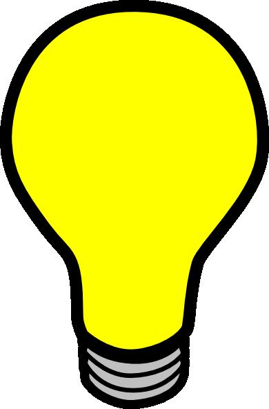 Light Bulb clipart 2 art of Light lightbulb