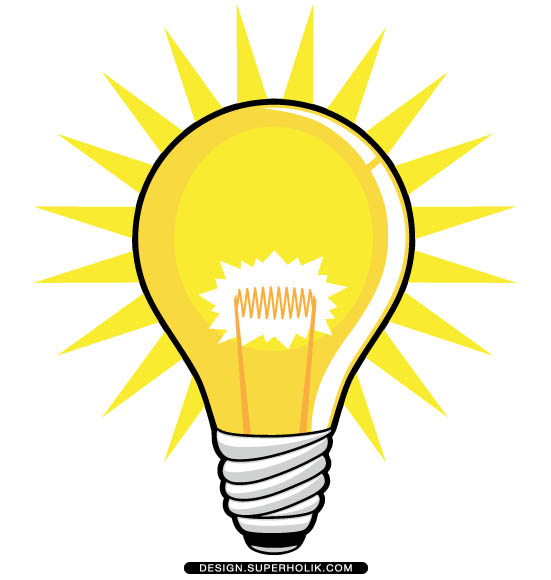 Idea clipart light bulb #12