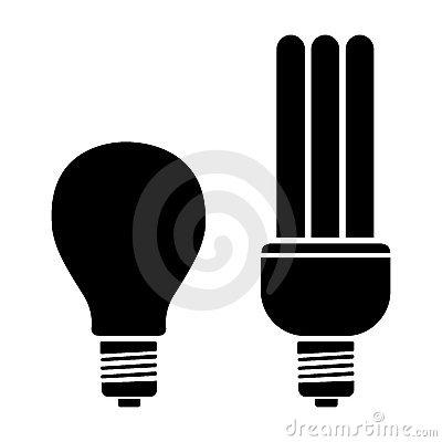Bulb clipart cfl bulb Panda Clip Clipart Cfl Images