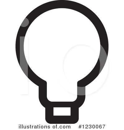 Bulb clipart ligt Clipart Light #1230067 Royalty Illustration