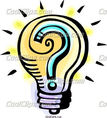 Bulb clipart main idea Panda Clipart Clipart Thinking Images