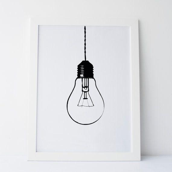Bulb clipart wall lamp Cute Prints on Decor Light
