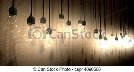 Bulb clipart wall lamp Of Hanging Hanging Wall Bulb