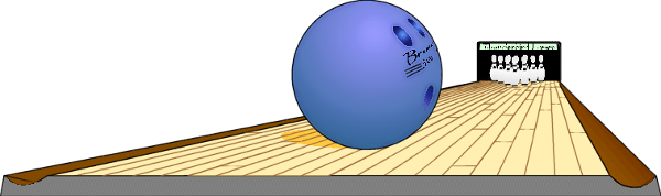 Alley clipart bowling alley #9