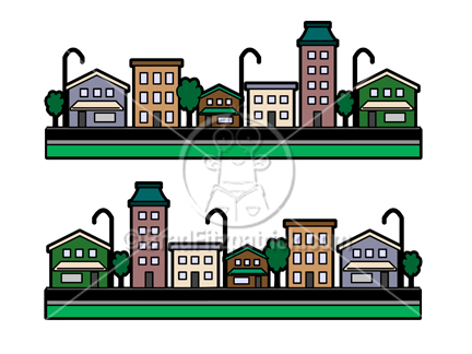 Bulding  clipart cartoon Cartoon Art Clipart Buildings Building