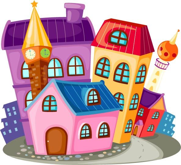 Bulding  clipart cartoon Pictures house Cartoon about download