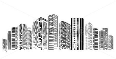 Building clipart city building Zone Clipart colored Buildings csp17653290