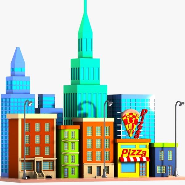 Building clipart city street City Bay Buildings Clipart Clipart