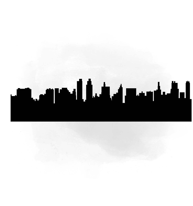 Cityscape clipart letter City City International Digital buildings