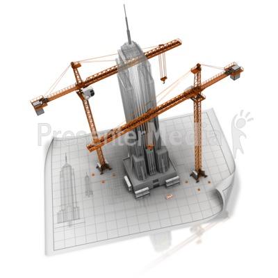 Building clipart corporation building A Blueprint Presentation Business A