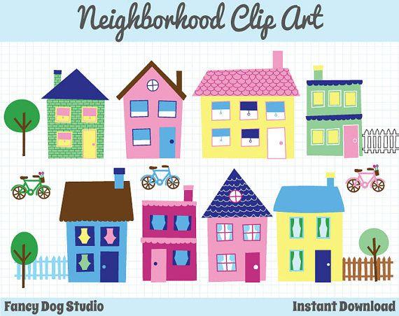 Hosue clipart border Downloadable Clipart Clip Neighborhood 40%