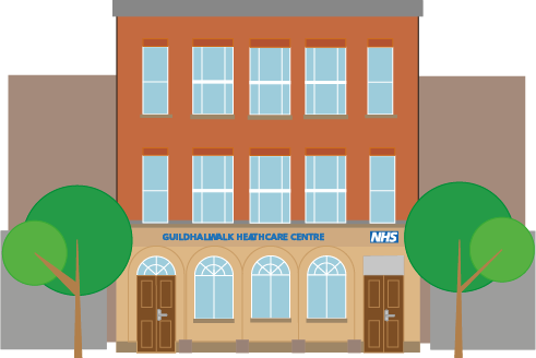 Building clipart doctors surgery Portsmouth GP Centre for with