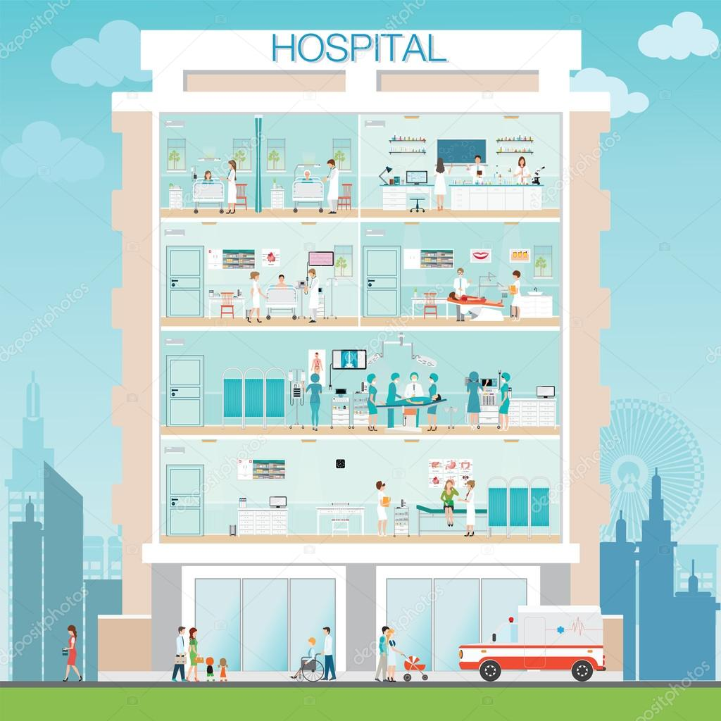 Building clipart doctors surgery Medical Medicall  with Hospital