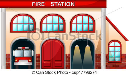 Firefighter clipart building Clipart Free  brigade department