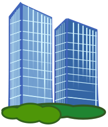 Bulding  clipart high building Art Buildings Building Download Tall