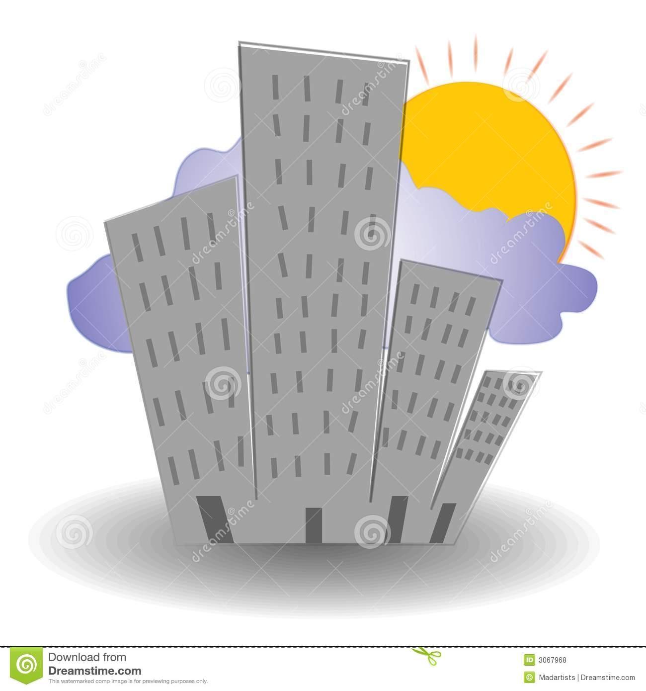 Bulding  clipart high building Building  building Set 3D