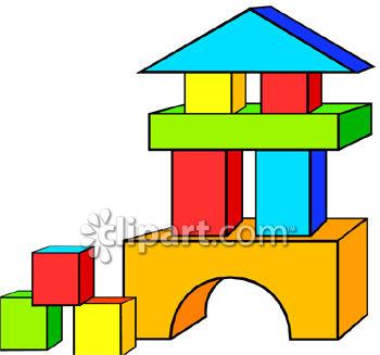 Tower clipart wooden block #1