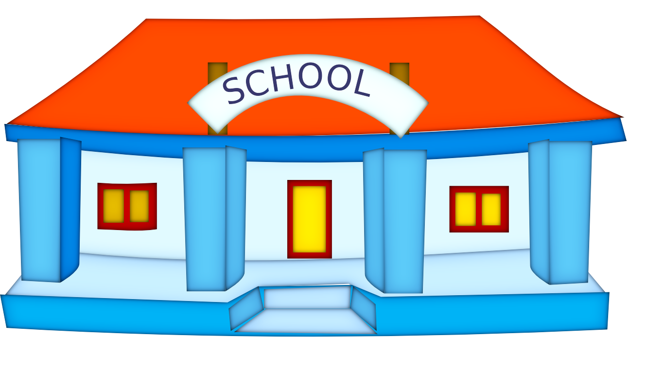 Hosue clipart kindergarten Cliparts Zone Kindergarten Cliparts building