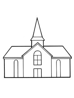 Building clipart lds church White Church Art Lds Clip