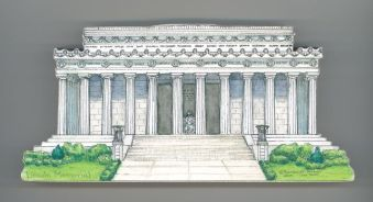 Building clipart lincoln memorial Building Collectibles Our Collectibles DC