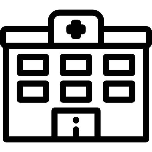 Bulding  clipart medical clinic Hospital PNG Page Icon 4