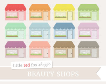 Building clipart nail salon Use Business Etsy Store Design