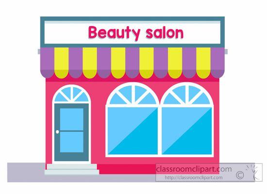 Building clipart nail salon Beauty salon Clipart : Clipart
