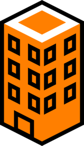 Building clipart orange Clipart clip art Orange Free
