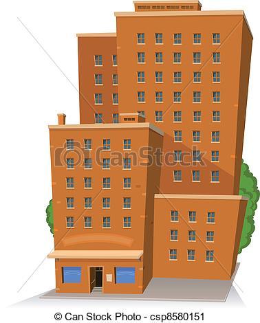 Building clipart orange Building Clip Art  ·