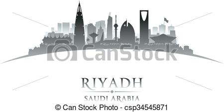 Building clipart saudi Skyline of Arabia silhouette Saudi