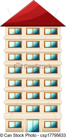 Building clipart tall building Tall Clipart white Building building