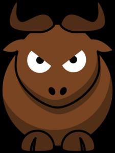 Bull clipart cute Angry Clker Clip art royalty