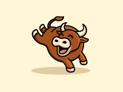 Bull clipart happy Dribbble Davilla by Alfrey Happy
