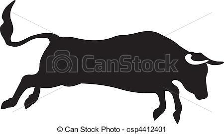 Bull clipart illustration Bull Art Clip To of