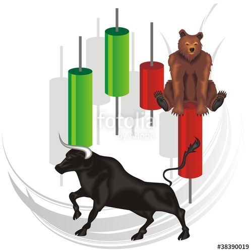 Bull clipart trading Trading free files royalty vector