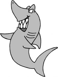 Bull Shark clipart illustration Shark Download Art Clip Shark