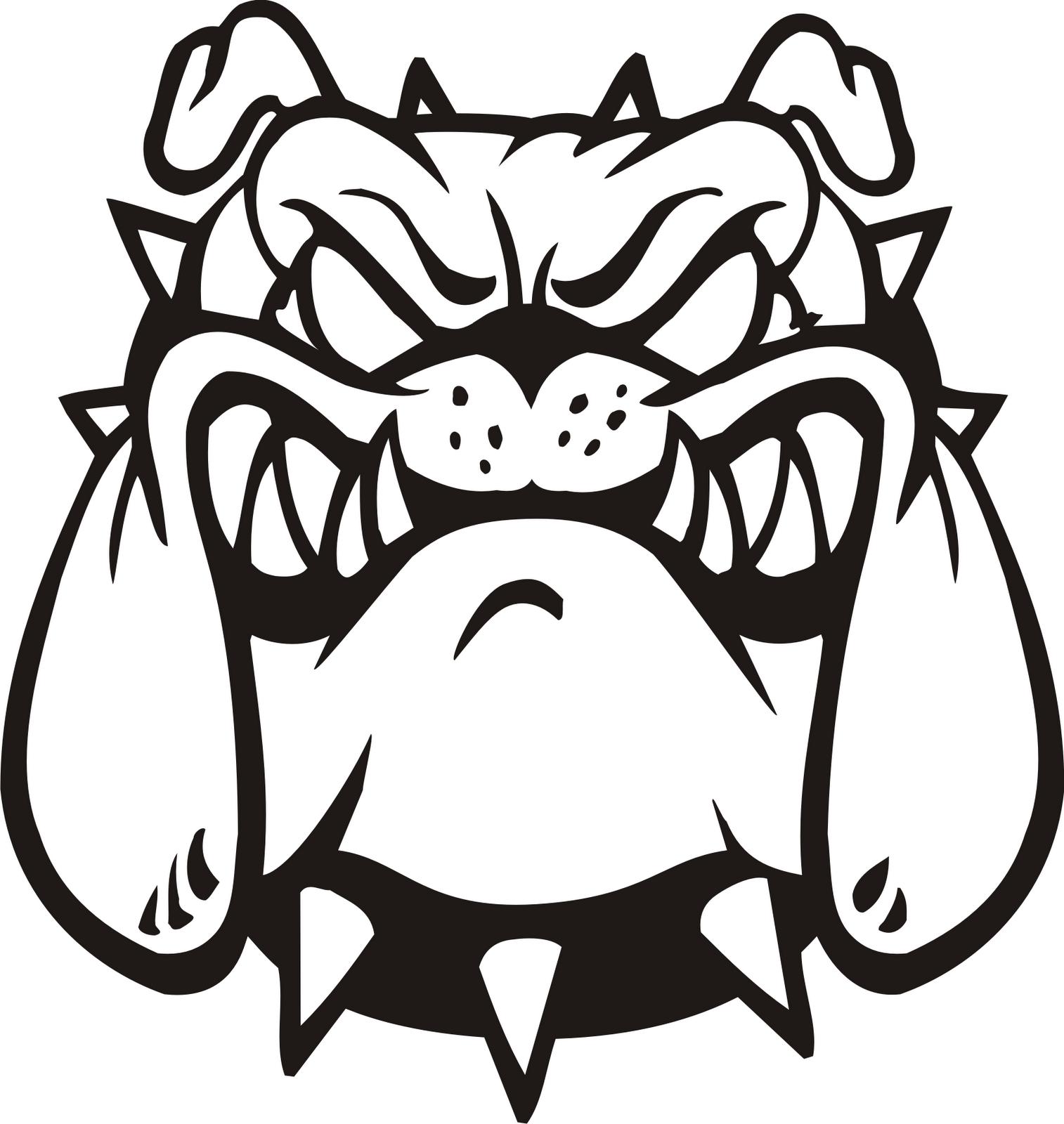 Drawn bulldog bulldog head Bulldog Pictures Art Clipart