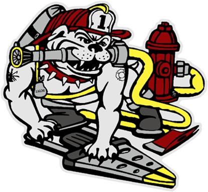 Firefighter clipart bulldog Decal Fire Bulldog Rescue