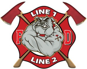 Firefighter clipart bulldog Bulldog Decal Products Decal com