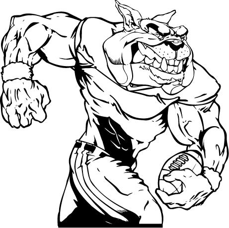 Bulldog clipart football player Mascot Bulldog bulldog%20football%20mascot Clipart Football