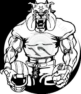 Bulldog clipart football player Player Mean mean%20football%20player%20clipart Clipart Images