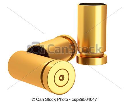 Drawn bullet bullet casing #13
