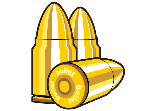 Bullet clipart graphic Bullet Vector Free Art Clip