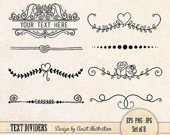 Ribbon clipart divider #4