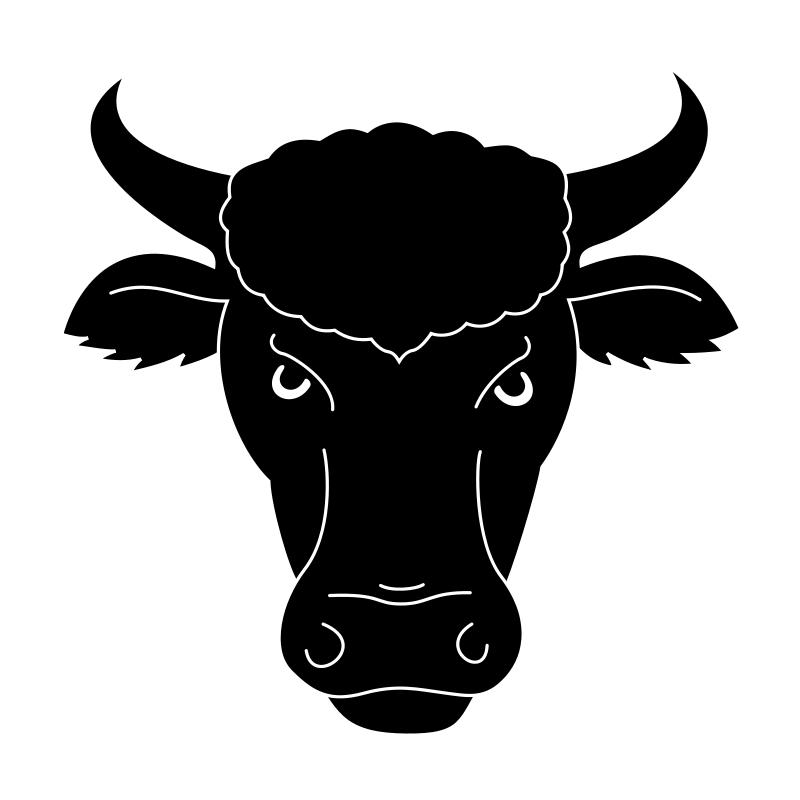 Bulls clipart Free Clip Head Images Clip