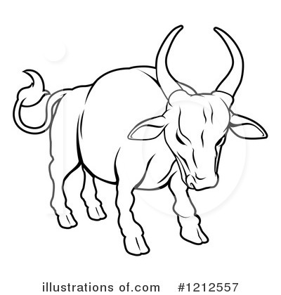 Bull clipart black and white Clipart Free White Clipart Images