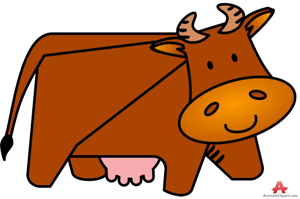 Bull clipart brown cow Brown Cow Design Clipart Brown