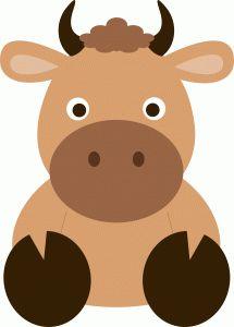 Bull clipart cute COW Cartoon best 262 images