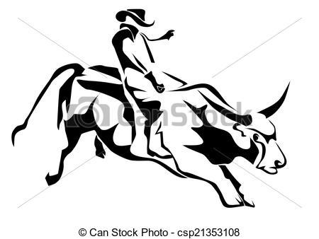 Bull clipart rodeo bull Clipart Clip Clip Download Bull